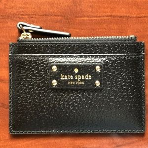 kate spade Card Case Coin Wallet Black